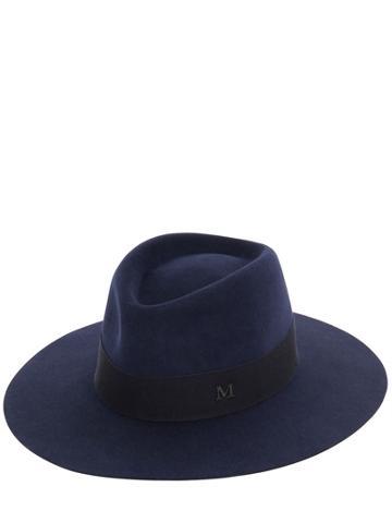 Maison Michel - Charles Rabbit Fur Felt Large Brim Hat