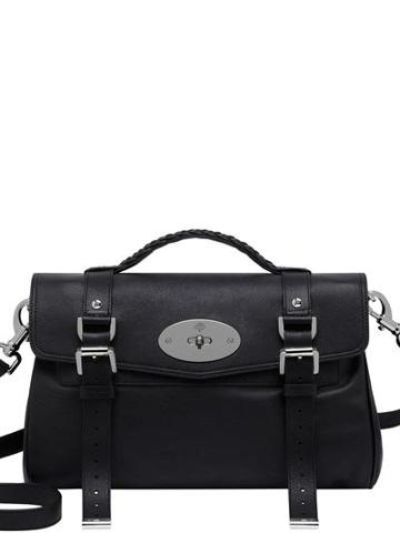 Mulberry - Alexa Polished Buffalo Satchel