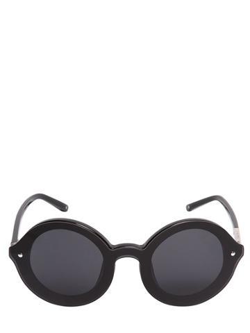 3.1 Phillip Lim X Linda Farrow Big Round Acetate Sunglasses