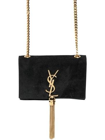 Saint Laurent - Saint Laurent Monogramme Suede Bag