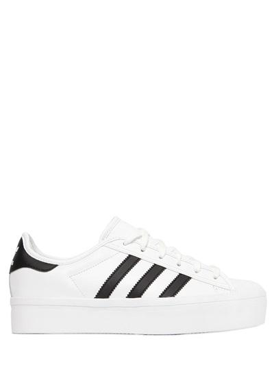Adidas Originals Superstar Platform Leather Sneakers