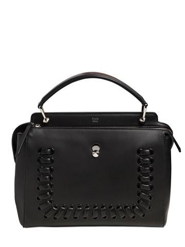 Fendi.com Corset Detail Leather Bag