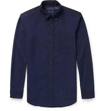 Blue Blue Japan Indigo-denim Shirt