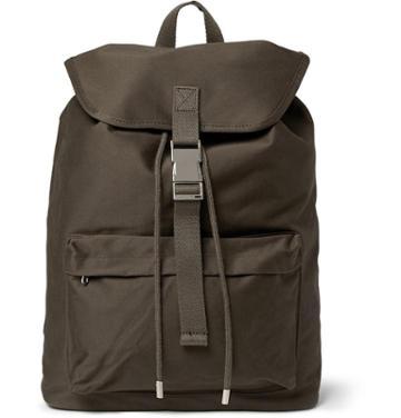 A.p.c. Cotton-canvas Backpack