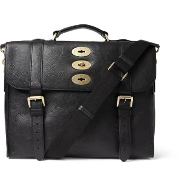Mulberry Ted Convertible Leather Messenger Bag