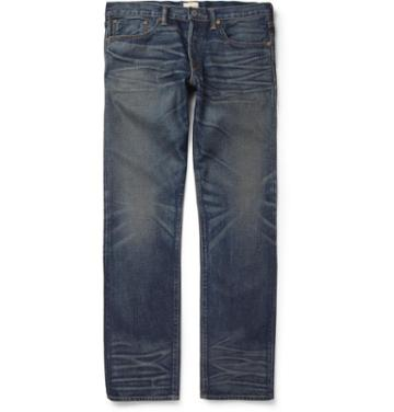 Simon Miller M002 Park View Regular-fit Washed Selvedge Denim Jeans