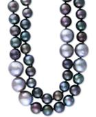 Effy Cultured Tahitian Pearl (10mm & 13mm) 48 Inch Long Strand Necklace