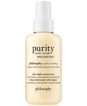 Philosophy Purity Made Simple Moisturizer, 4.7-oz.