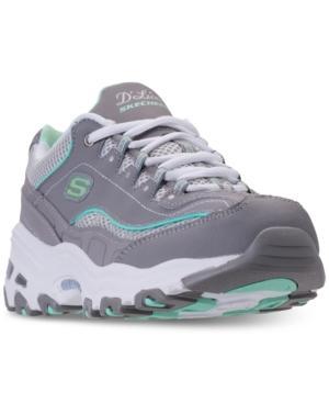 Skechers Women's D'lites - Life Saver Walking Sneakers From Finish Line