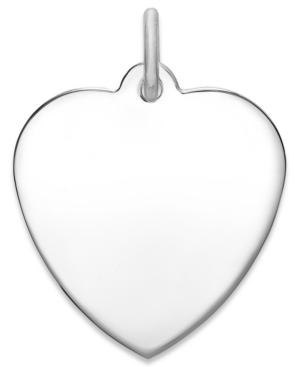 Rembrandt Charms Sterling Silver Heart Charm