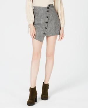 Sage The Label Button-front Asymmetrical Skirt