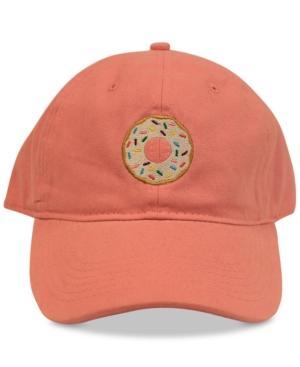 Concept One Doughnut Embroidered Cotton Dad Cap