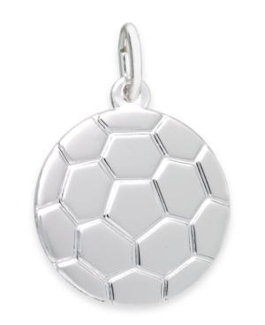 Rembrandt Charms Sterling Silver Soccer Ball Charm