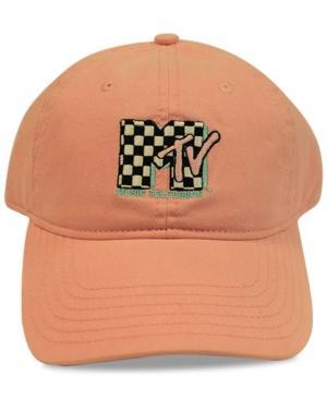 Concept One Mtv Checkered Logo Cotton Dad Cap