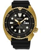 Seiko Men's Automatic Prospex Diver Black Silicone Strap Watch 45mm