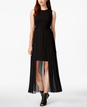 Rachel Rachel Roy Sleevless Pleated High-low Dress