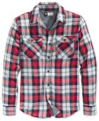 Lrg Men's Flipside Plaid Long-sleeve Shirt