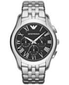 Emporio Armani Unisex Chronograph Stainless Steel Bracelet Watch 45mm Ar1786