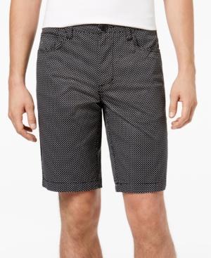 Armani Exchange Men's Dot-print Stretch Bermuda Shorts