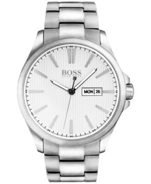 Boss Hugo Boss Men's The James Stainless Steel Bracelet Watch 42mm 1513482