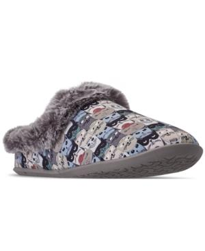 Skechers Women's Bobs For Cats Beach Bonfire - Scratch Nap Slip On Casual Shoes From Finish Line