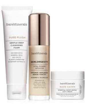 Bareminerals 3-pc. Skinsorials Purify Empower Moisturize Normal To Dry Skin Set - A $82 Value