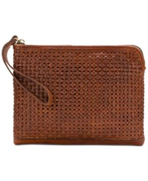 Patricia Nash Small Woven Cassini Wristlet