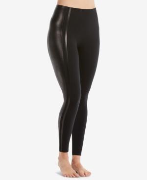 Spanx Glossy Side-stripe Leggings