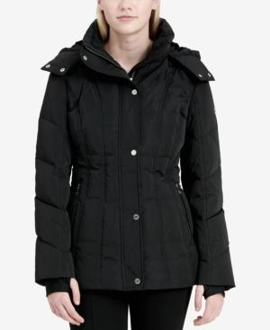 Calvin Klein Plus Size Hooded Puffer Coat