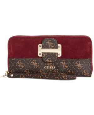 Guess Tepper Large Zip-around Wallet