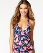 Tommy Bahama Printed Halter Tankini Top Women's Swimsuit