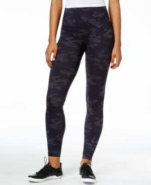 Spanx Look At Me Now Tummy Control Camo Leggings