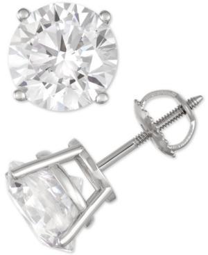 Diamond Stud Earrings (7 Ct. T.w.) In 14k White Gold