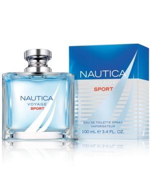 Nautica Voyage Sport Eau De Toilette Spray, 3.4 Oz.