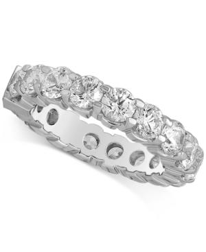 Diamond Eternity Band (4 Ct. T.w.) In 14k White Gold