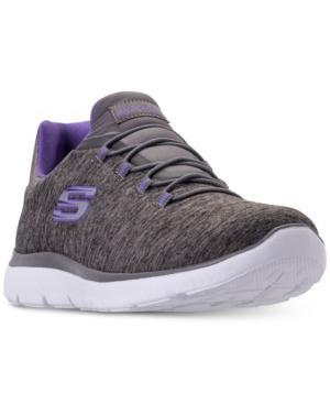 Skechers Women's Summits - Quick Getaway Wide Width Walking Sneakers From Finish Line