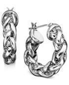 Lauren Ralph Lauren Small Braided Hoop Earrings