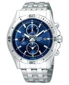 Pulsar Watch, Men's Chronograph Stainless Steel Bracelet Pf8397