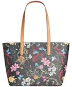 Giani Bernini Floral Tote, Created For Macy's