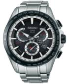 Seiko Men's Solar Astron Stainless Steel Bracelet Watch 45mm