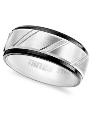 Triton Men's Ring, Tungsten Carbide Band (9mm)