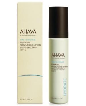 Ahava Essential Day Moisturizer Broad Spectrum Spf 15
