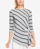 Vince Camuto Ruched Asymmetrical Top