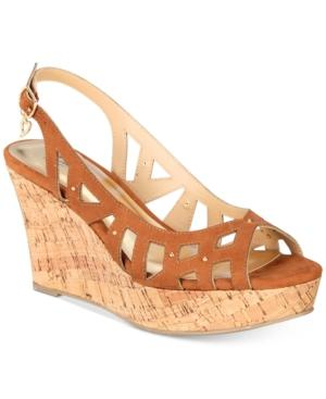 Thalia Sodi Ebbie Platform Wedge Sandals, Only At Macy's Women's Shoes