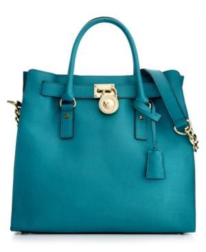 Michael Michael Kors Handbag, Hamilton Saffiano Leather Tote