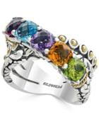 Balissima By Effy Multi-gemstone Statement Ring (4 Ct. T.w.) In Sterling Silver And 18k Gold