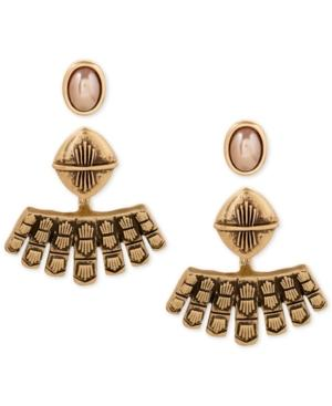 Lucky Brand Gold-tone Earring Jacket Earrings