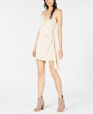 Sage The Label Wrap Mini Dress