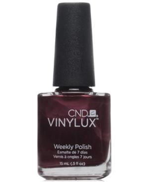 Creative Nail Design Vinylux Dark Lava Nail Polish