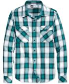 Lrg Men's Long-sleeve Plaid Shirt